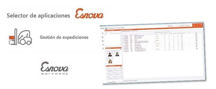 Expediciones de pedidos con Esnova Software II – Preparación de mercancía