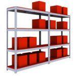 estanterías industriales para cargas manuales
