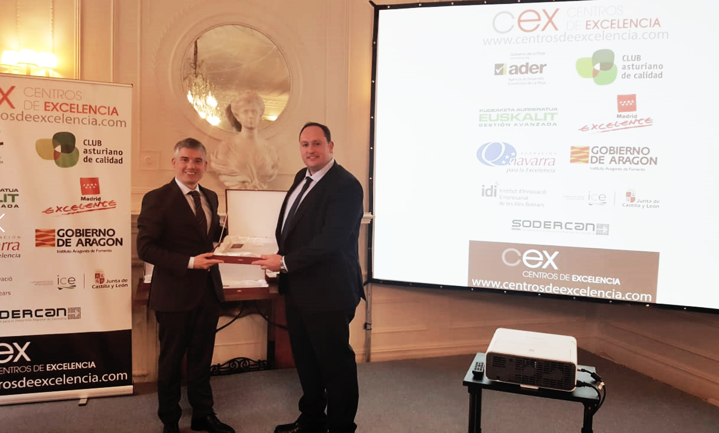 Entrega del Premio CEX 2018