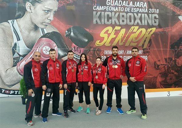 Equipo Esnova – Tks Kick Boxing en el campeonato de España
