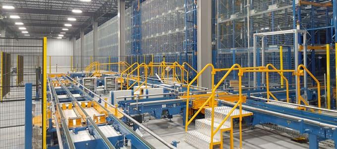 empresas de instalación de almacenes automáticos