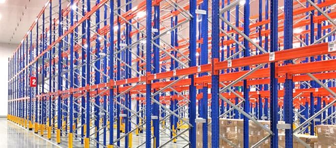 rack convencional estanterías palets