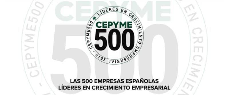 Somos una de las 500 pymes que más han crecido en España