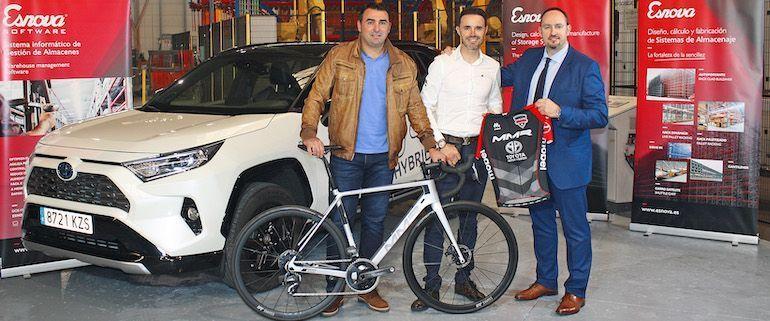 Esnova, nuevo patrocinador de la Samuel Sánchez-MMR Cycling Academy
