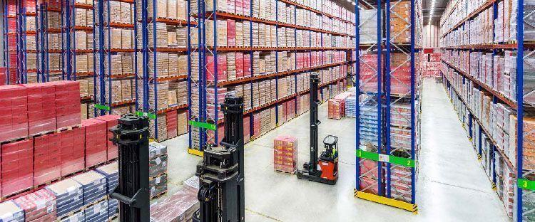 Organización de un almacén para mejorar la productividad laboral