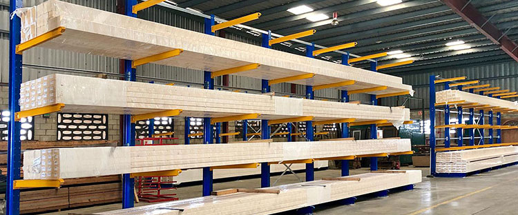 Manipulación de cargas largas: almacenar productos de grandes dimensiones
