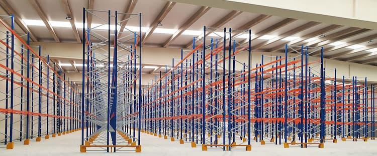 Elementos de seguridad en las estanterías para palets