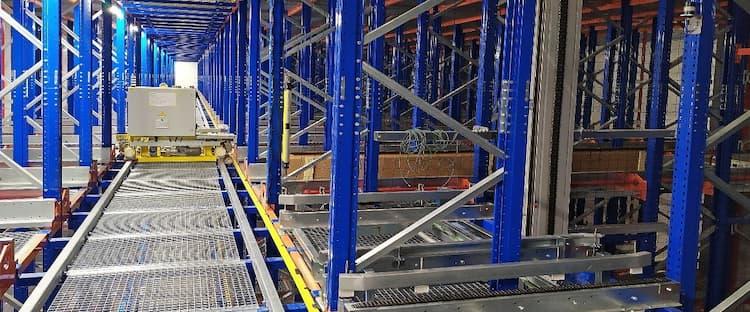 Caso de éxito: instalación de un almacén automático por Esnova Racks